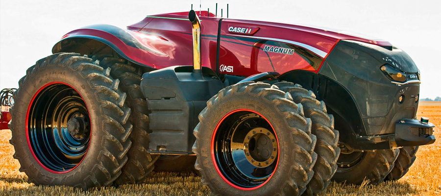 CASE IH And New Holland Reveal Autonomous Concept Tractors