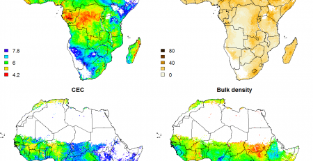 Big Data Generated Maps of Africa's Soil Properties