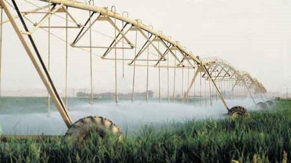 Sistemas de Irrigación de Pivote Central en Israel