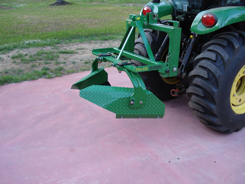 Raised Bed Maker on SubCompact Tractor
