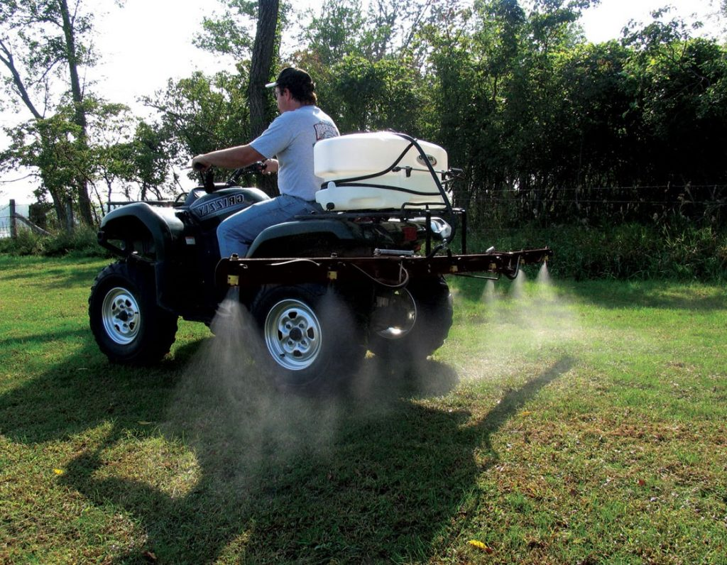 Sprayer for ATV
