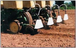 Band Sprayers for Weed control