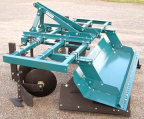 Bed shaper for compact tractor