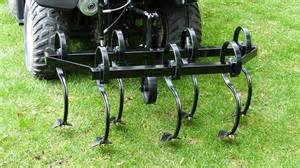 Field cultivator on ATV