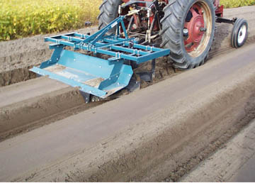 Forming Raised Beds with Compact Tractor