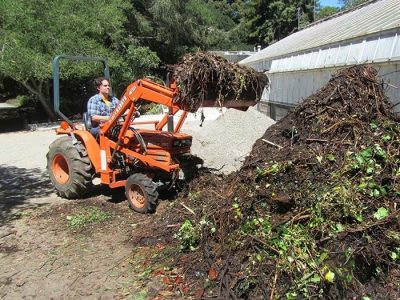 Compact Tractor with Front Loader
