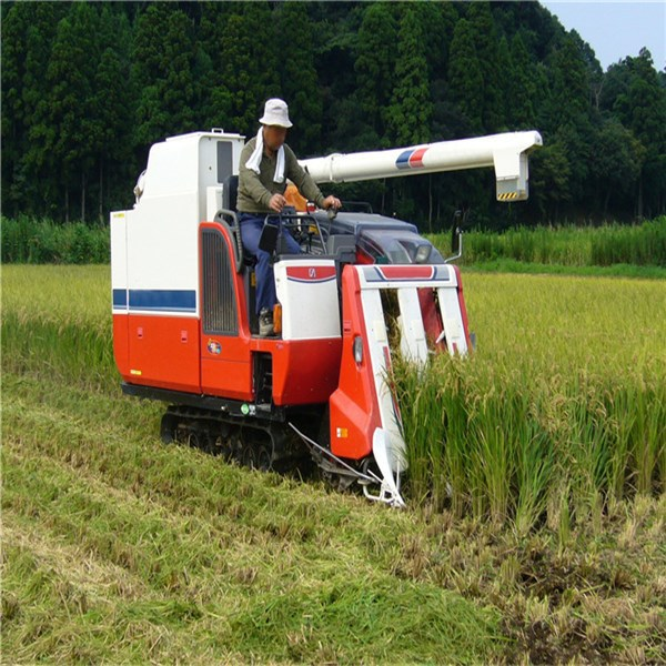Mini-Reaper-Binder Rice-Combine Harvester