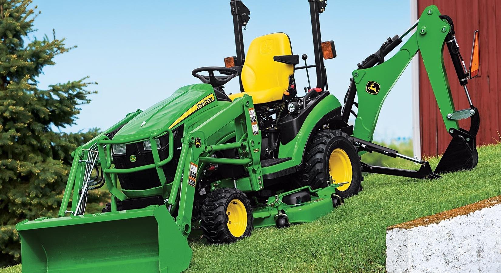 Sub-Compact Tractors John Deere
