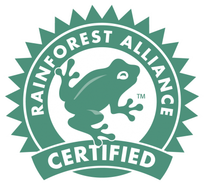 Rainforest Certification Seal