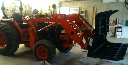 Tractor with Front-end loader