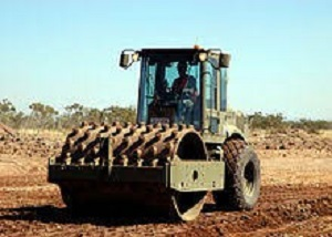 levelling and compacting 300