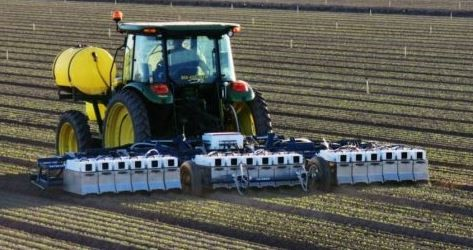 GPS app Precision Agriculture