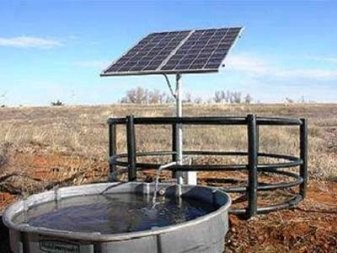 solar Energy in agriculture also allow for watering cattle