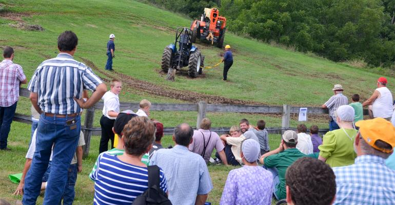 Demostration at Penn State 's Ag Progress Days
